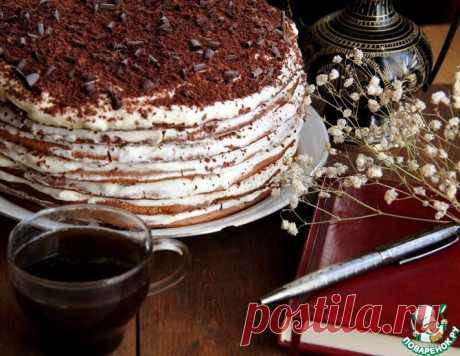 """Торт """"Карамельная девочка"""" – кулинарный рецепт"""