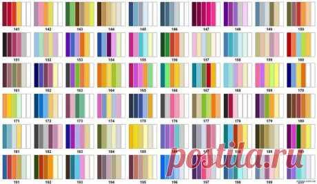 Варианты сочетания цветов для знатных рукодельниц — Сделай сам, идеи для творчества - DIY Ideas