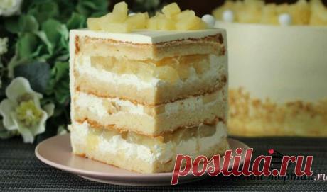 Торт «Тропик» — этот вкус не передать словами