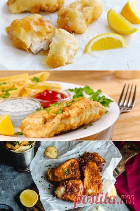 10 простых рецептов рыбы в кляре — Вкусно!