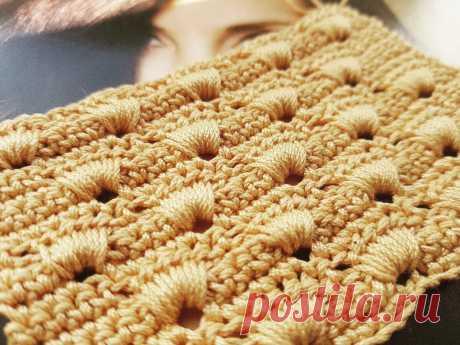 Плотный узор крючком для сумок и аксессуаров🌶 | Asha. Вязание и дизайн.🌶 | Яндекс Дзен