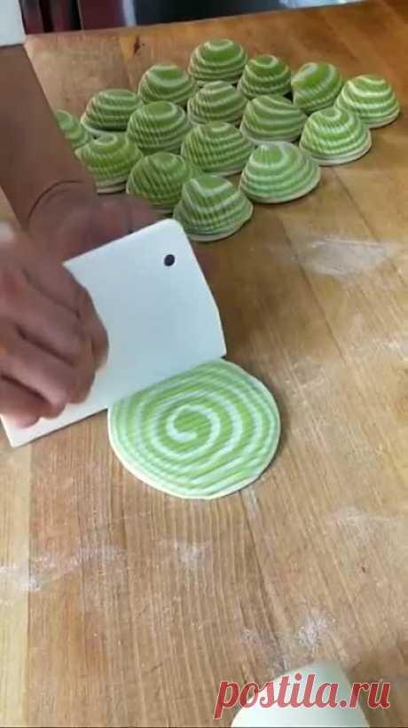 Печенье ракушки. Красивая форма