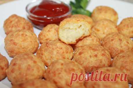 Сырные шарики в духовке   Fresh.ru