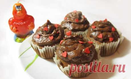 Шоколадные капкейки с шоколадным кремом рецепт с фото пошагово Шоколадные капкейки с шоколадным кремом - пошаговый кулинарный рецепт приготовления с фото, шаг за шагом.