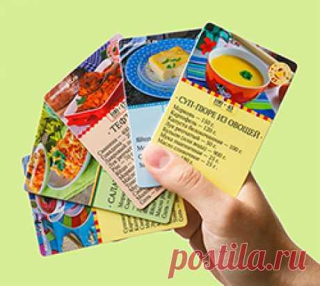 El catálogo de las recetas y los artículos publicados en el sitio \/ el Menú de la semana