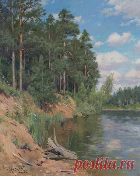Российский художник Станислав Брусилов