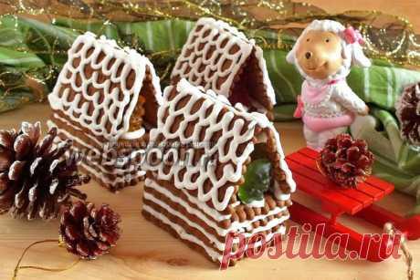 Новогодние домики из печенья рецепт с фото, как приготовить на Webspoon.ru