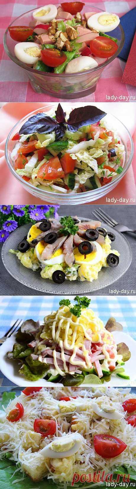 Лучшие салаты | Простые рецепты с фото