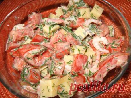Салаты с морепродуктами (без майонеза). Подборка рецептов с форума - Салаты