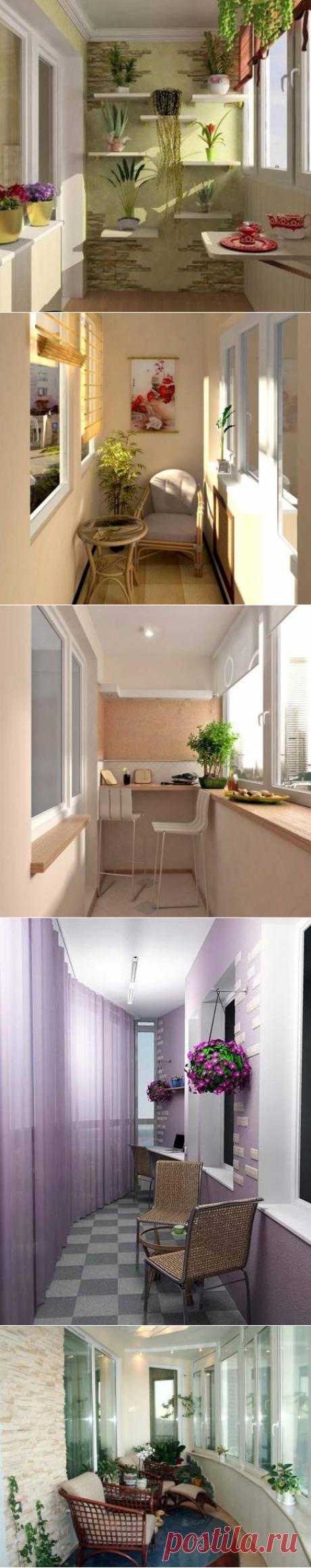 Идеи обустройства балкона и лоджии на FurnishHome.ru