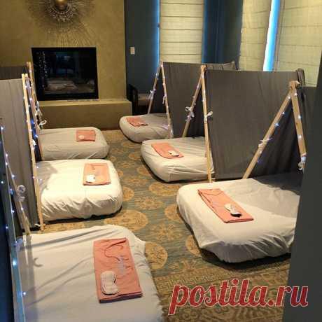 Детские палатки для домашних вечеринок с ночевкой