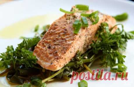 Рыба на пару с травами - пошаговый рецепт с фото на Повар.ру