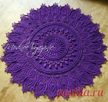 Красивейшая салфетка *Momentous Occasions* - Crochet.Modnoe Vyazanie ru.rom
