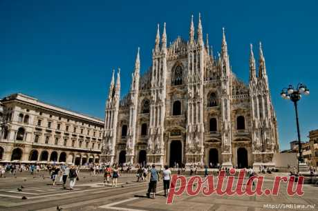 Миланский собор Дуомо Италия