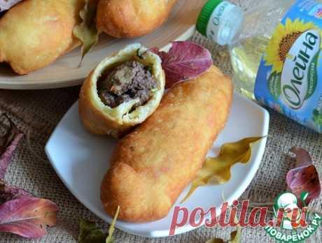 Пончики с ливером – кулинарный рецепт