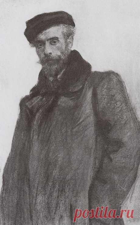 Портрет И.И.Левитана. 1900      Валентин Александрович Серов (1865-1911). Часть 1: vakin