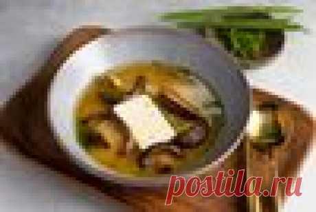 Японский мисо суп с шиитаке и тофу – пошаговый рецепт приготовления с фото