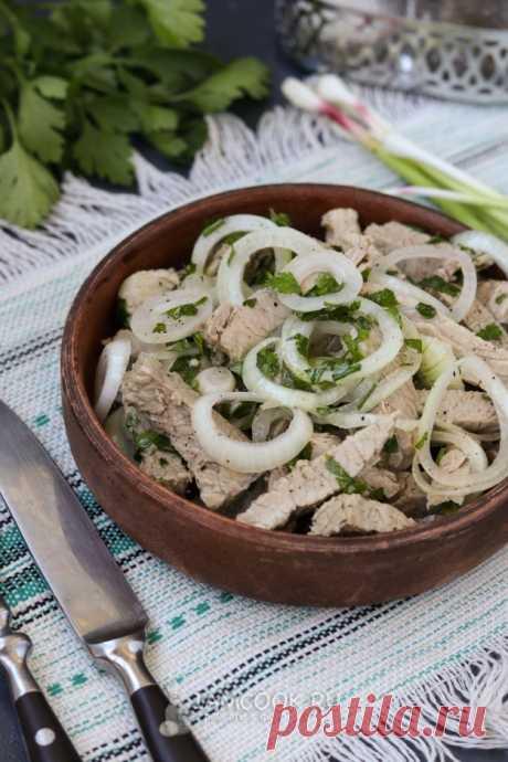 Салат «Холодный шашлык» — рецепт с фото пошагово