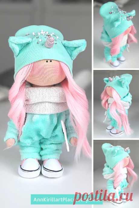 Interior Tilda Doll Fabric Art Doll Soft Cloth Doll | Etsy