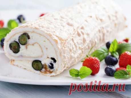 La receta poshagovyy de la preparación del panecillo del merengue. - los postres - Smak