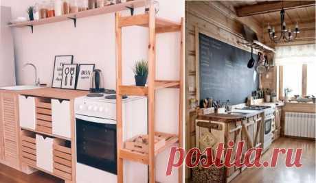Бюджетное изготовление кухонного гарнитура из вторсырья: надежность, проверенная временем