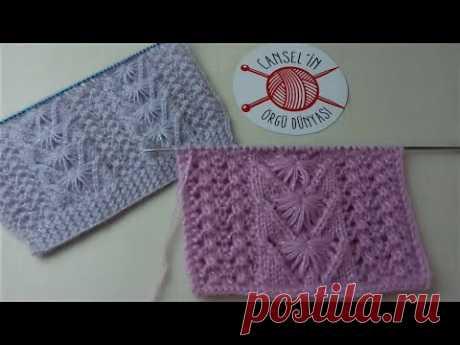 RENDELİ YARIM PAPATYA ÖRGÜ MODELİ ( yelek modelleri)❤️ Knitting Patterns