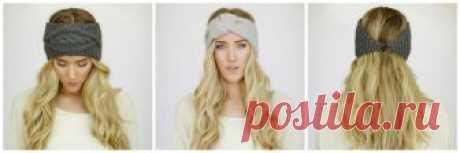 Вязаная повязка на голову (57 фото): модные летние варианты для женщин, красивые изделия с косой