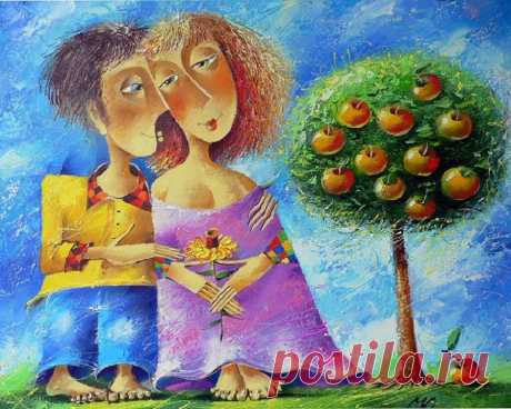 Счастье —  Художник Юрий Мацик родился в 1956г. в г.Ужгород, Закарпатской области.