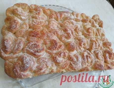 """Отрывной творожный пирог """"Фантастика"""" – кулинарный рецепт"""