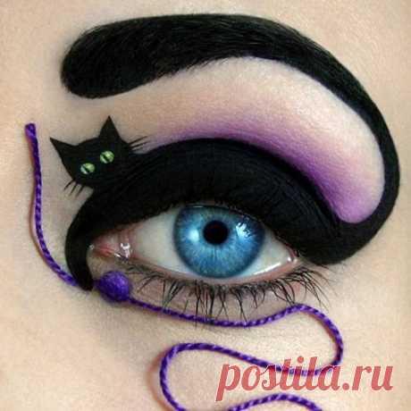 Сказочный макияж.