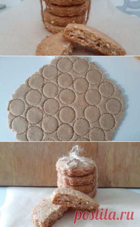 Овсяное печенье с кунжутом | Еда