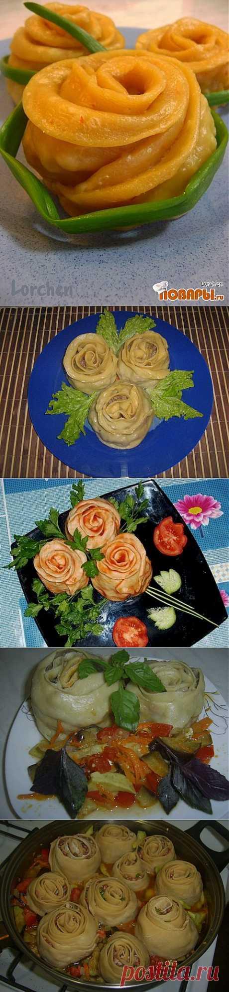 Extremadamente hermoso vareniki, los pelmeni y manty a un par. - las recetas simples Овкусе.ру
