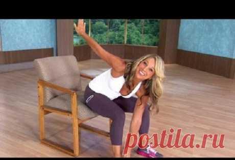 ¡5 kreselnyh de los ejercicios, que reducirán su vientre, mientras que estáis!