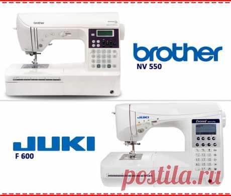 Тест драйв №33 Brother NV 550 и Juki F600 - Тест драйвы и обзоры - Статьи | ТекстильТорг