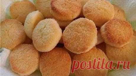 Нежное песочное печенье (РЕЦЕПТ В КОММЕНТАРИЯХ)
