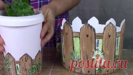Идеи для поделок из пластиковых ведер из-под майонеза   Марина Мэй   Яндекс Дзен