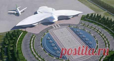 Новый аэропорт Ашхабада поражает воображение!