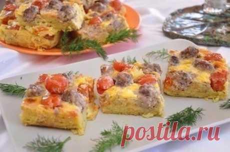 Как приготовить картофельная запеканка с мясными шариками  - рецепт, ингредиенты и фотографии