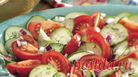 Вот почему нельзя есть огурцы и помидоры в одном салате! — FunnyReps