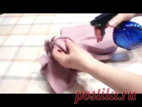 Как отровнять низ косой юбки по методу Светланы Поярковой