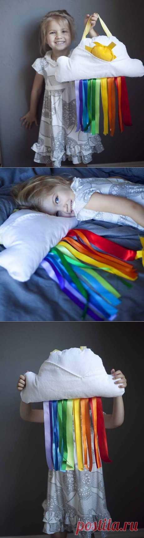 Подушка в детскую / Подушки / Модный сайт о стильной переделке одежды и интерьера