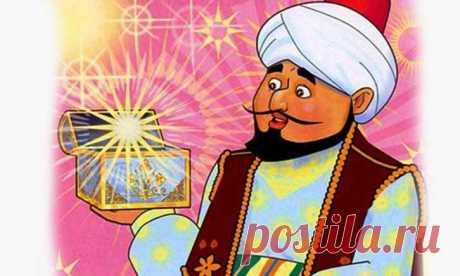 Волшебная коробочка. Арабская народная сказка | Семья и ребенок