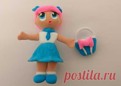 Как сделать куклу Лол из пластилина: пошаговый мастер-класс по лепке игрушки и сумочки