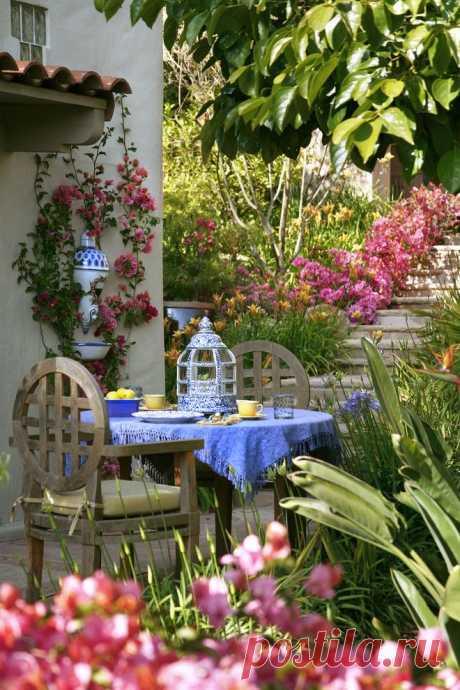 Квітники на дачі. 50 фото райських куточків! | Ідеї декору