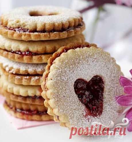 Австрийское Линцерское печенье - Повар.ру