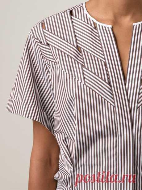 Идеи для переделок мужской рубашки в блузку | Рукоделие