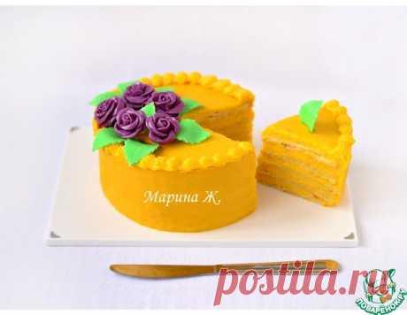 """Тыквенный торт """"Мильфей"""" – кулинарный рецепт"""