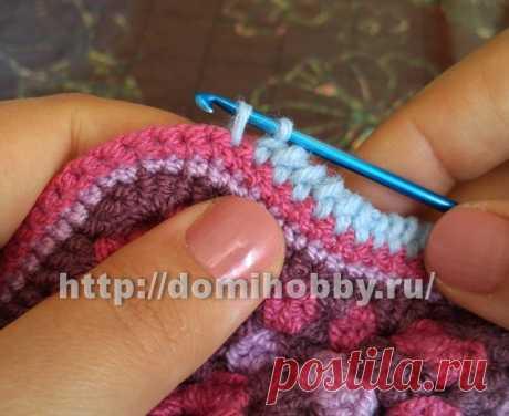 Easy ways of a binding of edge hook