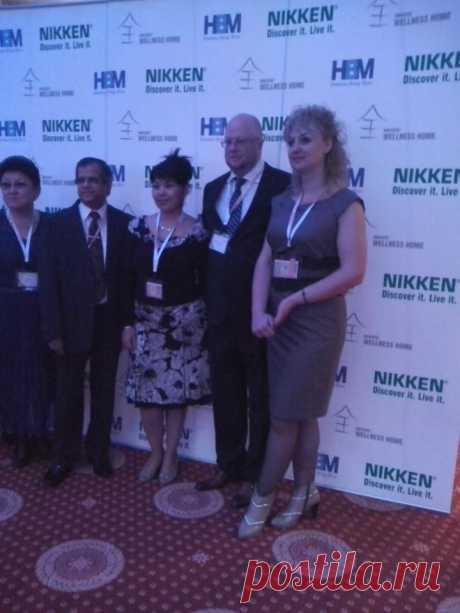 Конвенция в Алматы в апреле 2013 с участием великого ученого Америки №1 Нараином Найду