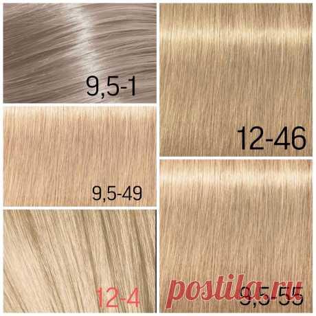 Как самостоятельно выбрать краситель для волос по палитре? Разбор оттенка Сандрэ | Женя Жульева (КОЛОРИСТИКА ВОЛОС) | Яндекс Дзен